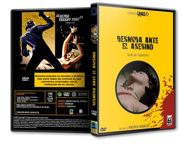 Desnuda Ante El Asesino Andrea Bianchi 1975 Nostalgy Films